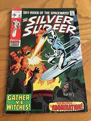 The Silver Surfer  #12. January 1970.