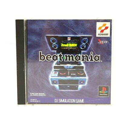 PS1 / Sony Playstation 1 game - Beatmania JAPAN boxed