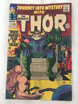 JOURNEY INTO MYSTERY #122. MARVEL COMICS 1965. THOR vs THE ABSORBING MAN