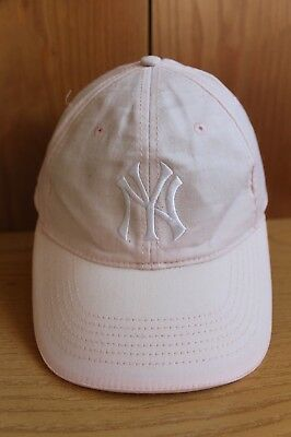 CAPPELLO CAP VINTAGE CAPPELLINO BERRETTO NY New York YANKEES PINK MLB  GENUINE 2619f2d34b61