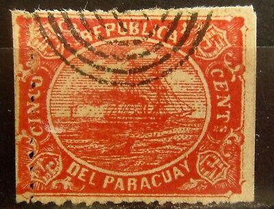 PARAGUAY Old Stamp - Used - r69e7392