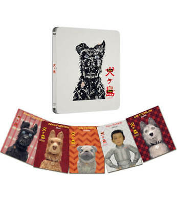 Isle of Dogs UK STEELBOOK Limited Edition Blu-ray Region Free 2018 In hand !!!!