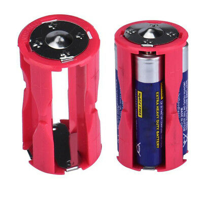 1PC 4 AAA In Parallel Cell Adapter Battery Holder DC 1.5V Case Box Convert Red