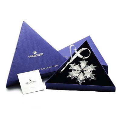 Swarovski Crystal Snowflake 2018 ANNUAL EDITION LARGE CHRISTMAS ORNAMENT