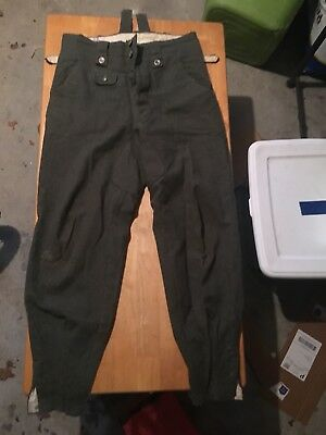 Repro German WW2 Trousers Size Markings Pictured