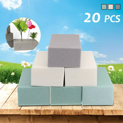 20X Dry/Wet Floral Foam Brick Florist Block Dry Flower Wedding Bouquet Flowers