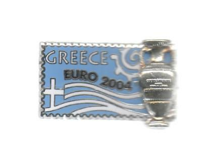 Pins Pin's Foot Euro 2004 Portugal Coupe Greece En Relief Grece