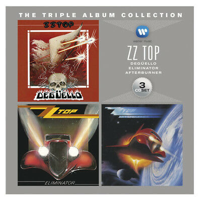 ZZ Top ‎– The Triple Album Collection 2012 - 3 x CD Digipak  - NEW/SEALED!