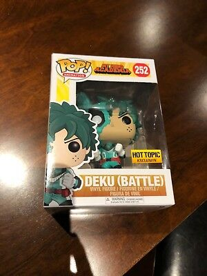 Funko Pop! My Hero Academia Battle Deku Hot Topic Exclusive #252