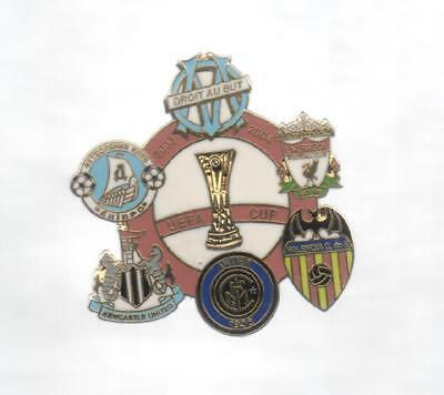 Pins Pin's Foot Om Olympique Marseille Inter Valencia Newcastle