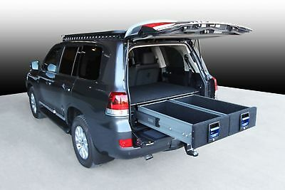 MSA Double Drawer System suitable for Landcruiser 200 - 250Kg Heavy Duty