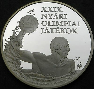 HUNGARY 5000 Forint 2008 Proof - Silver - Beijing Olympics Waterpolo - 1931 ¤