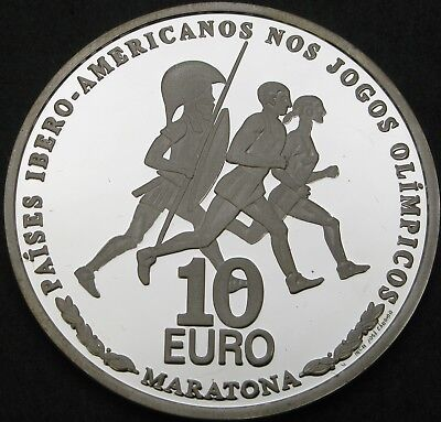 PORTUGAL 10 Euro 2007 Proof - Silver - Olympic Games - 1964 ¤