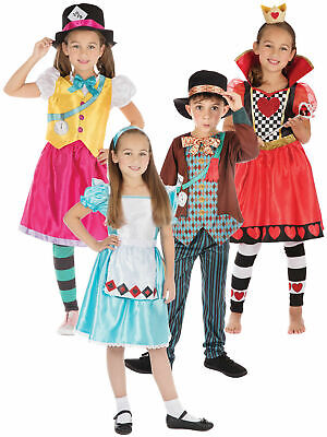 """Dirty Fingers Child/'s T-Shirt /""""Alice in Wonderland The Mad Hatter/"""" Boy Girl Top"""
