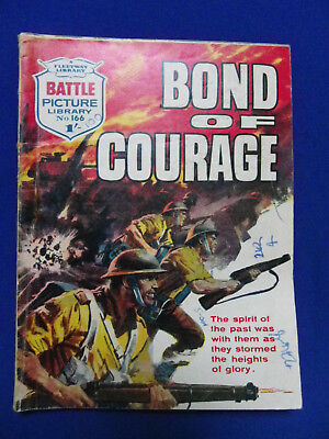 Battle Picture Library War Stories Comic No166 Bond Of Courage 1/-