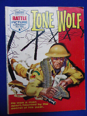 Battle Picture Library War Stories Comic No155 Lone Wolf 1/-