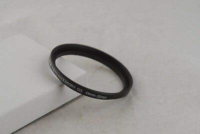 New 49mm-52mm Metal Step-Down Ring 49-52mm 49-52