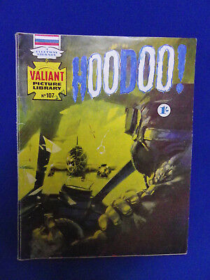 Valiant Picture Library No107 Hoodoo 1967 -1/- Cover Price