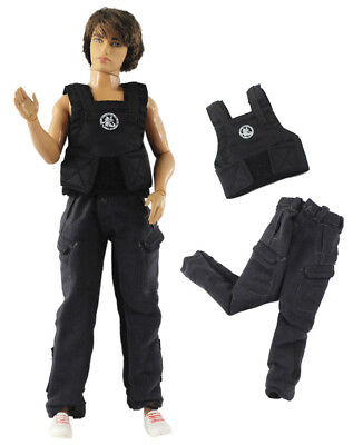 Fashion Outfits/Clothes/Uniform Tops+Pants For 12 inch ken doll A6