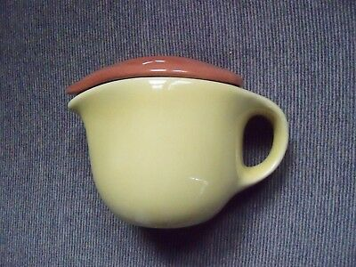 1949 Russel Wright Sterling China Tea Pot w/Lid ( Lid chips )