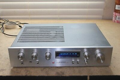 Pioneer SA-510 Integrated Stereo Amplifier Amp Needs Work Right Channel Out