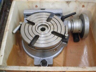 """8"""" Horizontal / Vertical Rotary Table ***new***"""