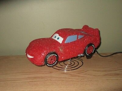 Disney Pixar Cars Lightning McQueen Night Light Table Lamp