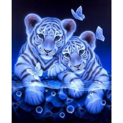 5D DIY Tiger Diamond Painting Embroidery Full Square Diamond Home Decoration