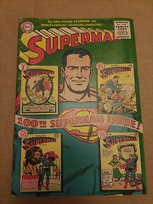 Superman #100 (Sep 1955, DC)
