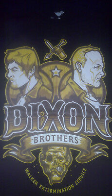 The Walking Dead T-shirt Dixon Brothers Daryl Dixon - Women Size L