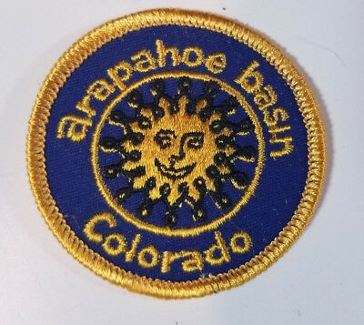 Arapahoe A Basin Ski Resort Colorado Embroidered Patch