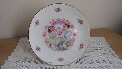 Royal Doulton My Valentine Day Plate 1977 My Sweetest Friend