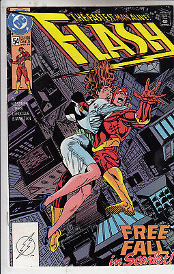 Flash   # 54    Vfn / Vfn+   1991  D.c Comics  American Comic