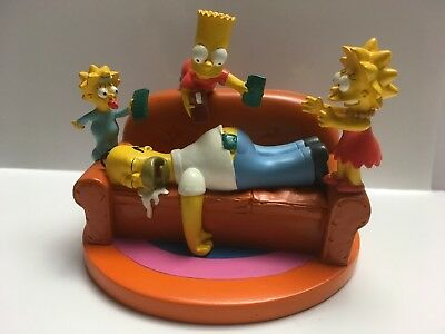 """The Simpsons """"PAY DAY"""" HOMER Misadventure statue S#1043 2004 Hamilton Collection"""