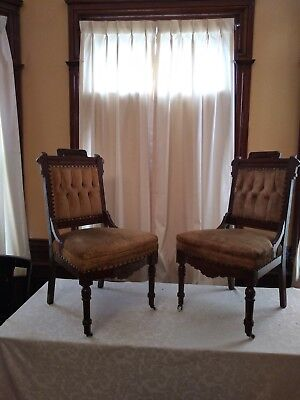 Pair Of Eastlake Chairs