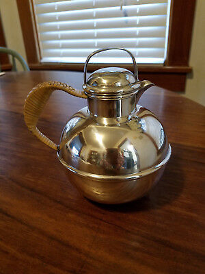 Vintage sterling silver teapot or milk warmer by Tuttle
