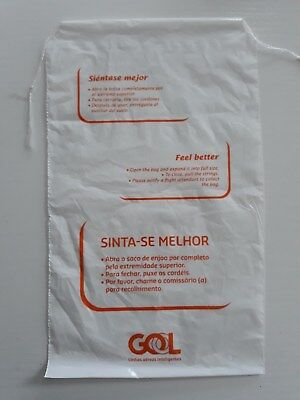 GOL Air sicknessbag barfbag Airline