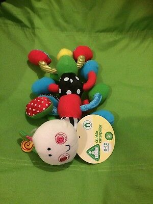 ELC Crinkle Caterpillar New With Tags
