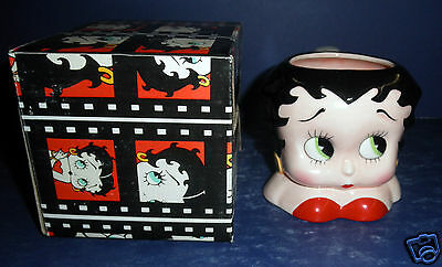 Vandor Betty Boop Face Mug- New in Box- #10601