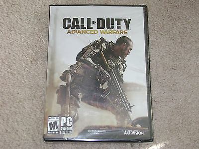 Call Of Duty Advanced Warfare...pc...***sealed***brand New***!!!!!