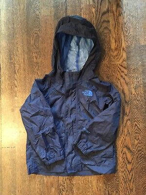 The NORTH FACE hooded HyVent Rain Jacket Toddler 5T Navy