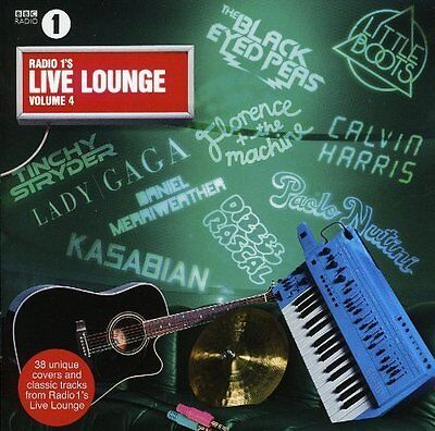Various - Radio 1's Live Lounge Vol 4 - CD - U2, LADY GAGA, KATY PERRY, KASABIAN
