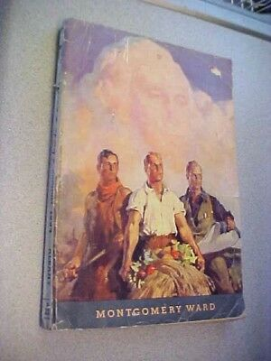 1934 Montgomery Ward Large Spring & Summer Catalog