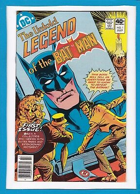 THE UNTOLD LEGEND OF BATMAN #1_JULY 1980_VERY FINE+_1st GREAT COLLECTOR'S ISSUE!