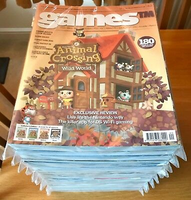 GAMEStm MAGAZINE ISSUES 1-40 COMPLETE RUN GAMES TM COLLECTION LOVELY CONDITION!