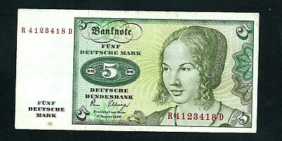Germany (P30b) 5 Deutsche Mark 1980