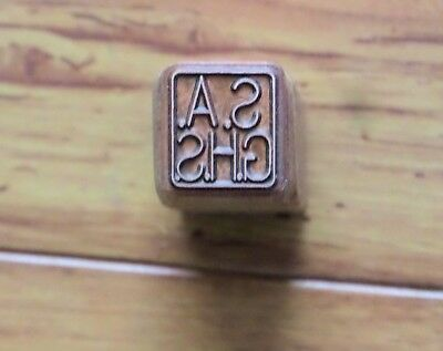 M1 Garand S.a. Ghs Stock Stamp