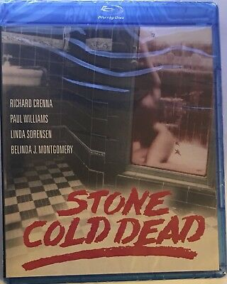 Stone Cold Dead 1979 (Blu-ray Disc, 2017) Kino Lorber Crime Thriller NEW Sealed
