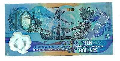 New Zealand (P190) 10 Dollars 2000 Polymer Commemorative