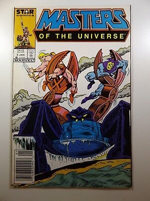 Masters of The Universe #5 Star Comics Series Beautiful VF- Condition!!